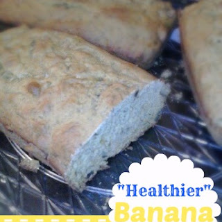 """Healthier"" Banana Bread"
