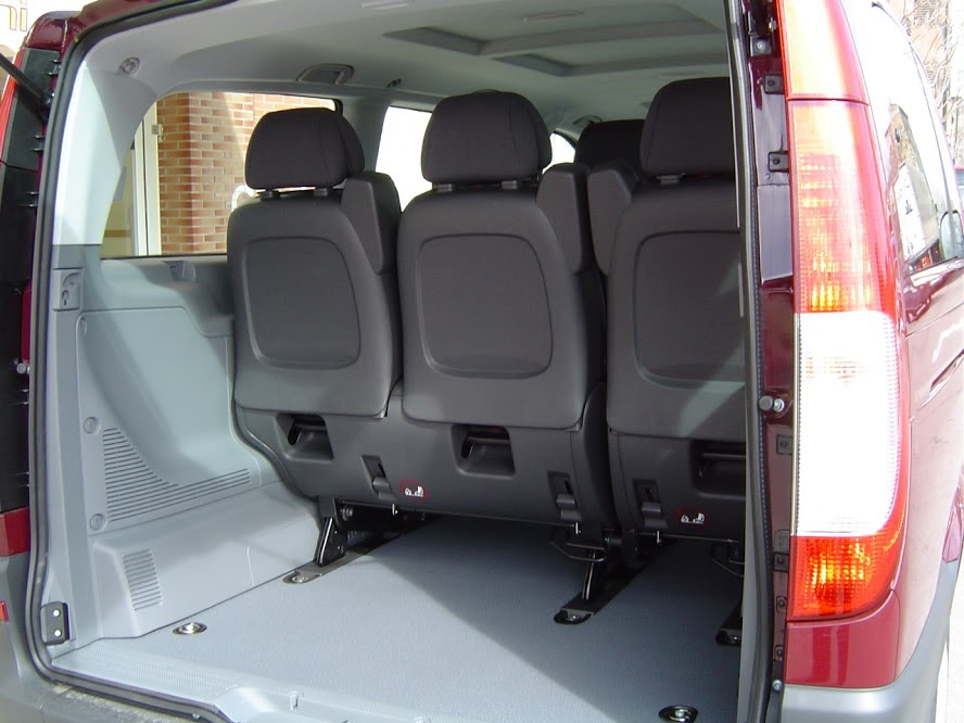Interior de mercedes vito