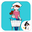 Baby Goes to Market - Cute App icon
