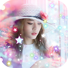 Glitter Sparkle Photo Effects - Photo Frame