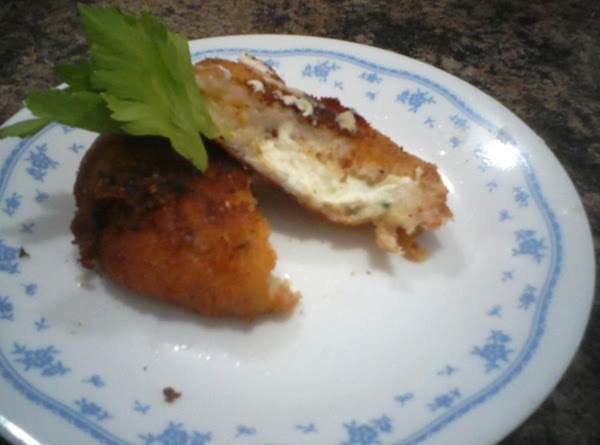 Potato Pancakes With Cheddar, Chives, And Cream Cheese In The Middle Recipe