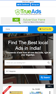 TrueAds Free Local Classifieds- screenshot thumbnail