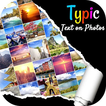 Typic :- Text on Photos