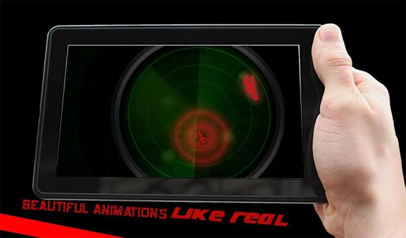 android Radar Scanner 3d Sim Prank Screenshot 14