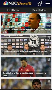 NBC Deportes- screenshot thumbnail