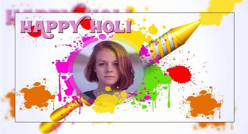 Happy Holi Photo Editor 1.1 screenshots 1