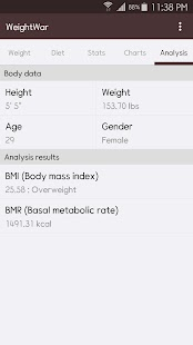 WeightWar - Weight Loss- screenshot thumbnail