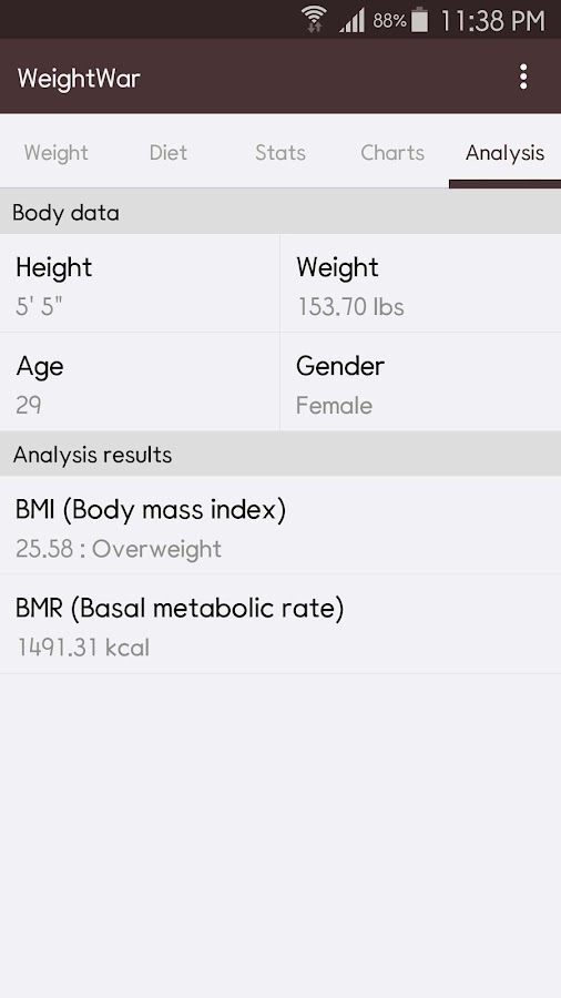 WeightWar - Weight Loss- screenshot