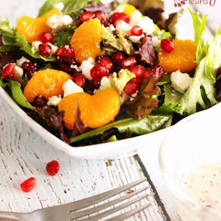 Christmas Salad With Pomegranate Seeds Recipes