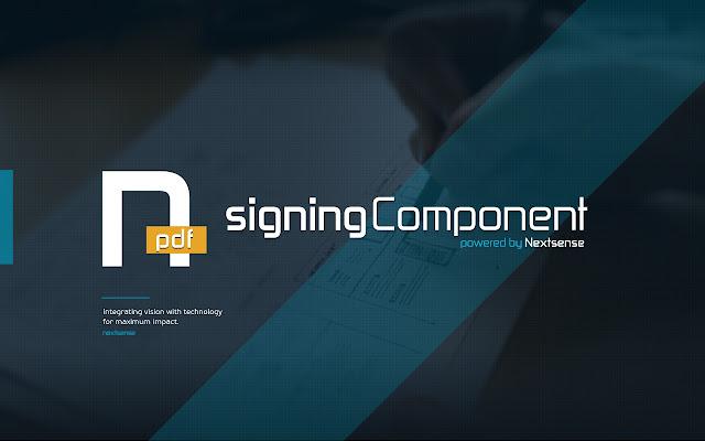 Nextsense PDF Signing Component
