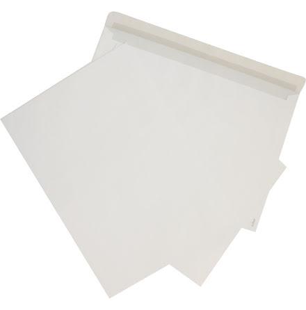 Kuvert C5 vit med remsa 100/fp