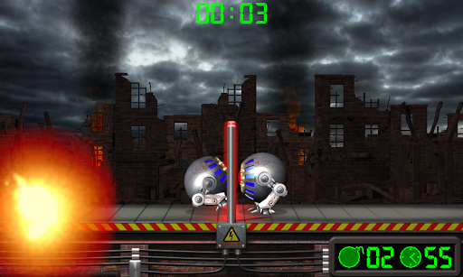 Extreme Volleyball. Battle Robots. android2mod screenshots 6