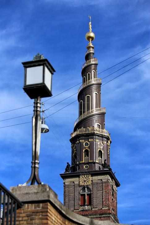 Kopenhaga, wieża Kościoła Najświętszego Zbawiciela, Von Frelsers Kirke