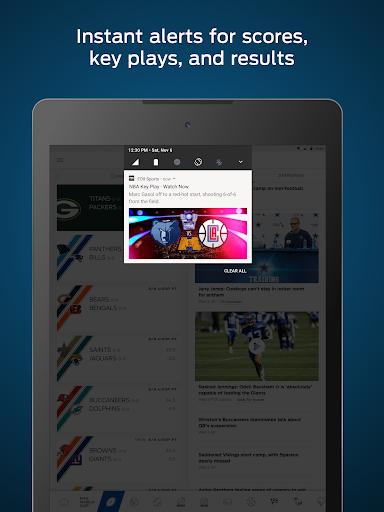 FOX Sports: Live Streaming, Scores & News  screenshots 8