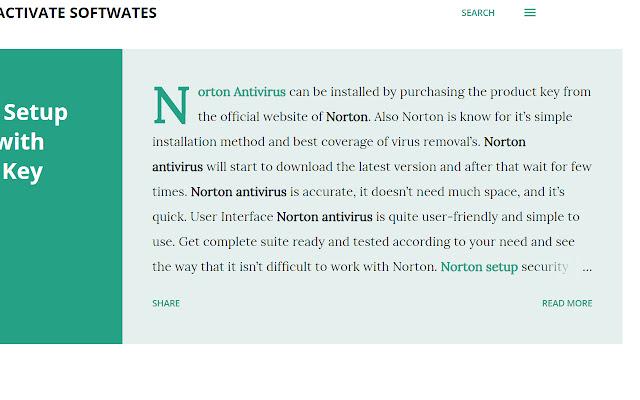 Activate Setup Help