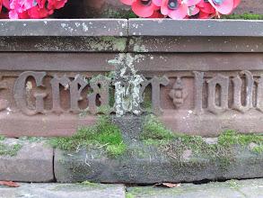 Photo: Moss, lichen, mortar