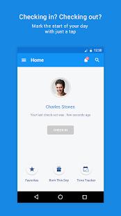HR management app - Zoho People - náhled