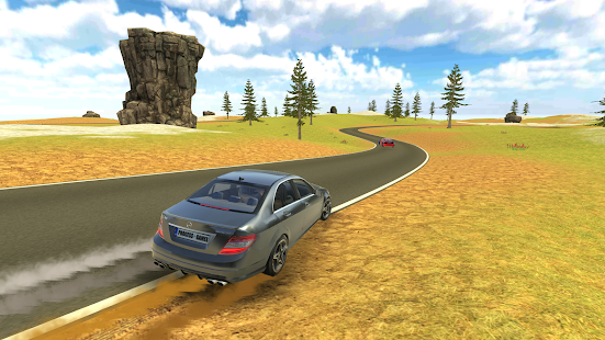 C63 AMG Drift Simulator Screenshot