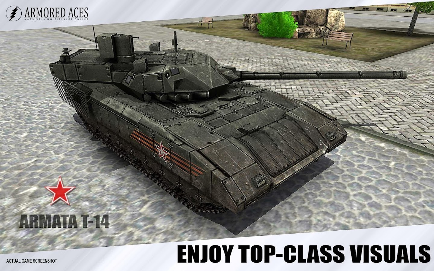 Armored Aces - 3D Tanks Online- screenshot