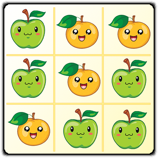 Fruits Tic Tac Toe Free 棋類遊戲 App LOGO-APP開箱王