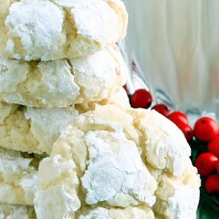 Eggnog Gooey Butter Cookies {from scratch!}.