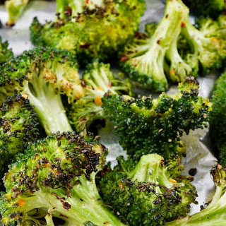Garlic Grilled Broccoli | How to Grill Broccoli.