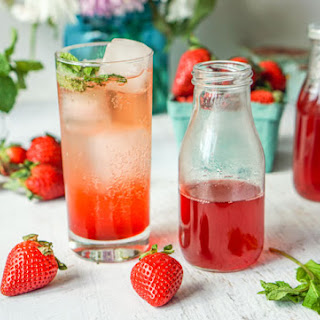 Strawberry Mint Drinks Recipes.