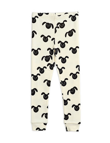 Mini Rodini Rabbit Leggings Black