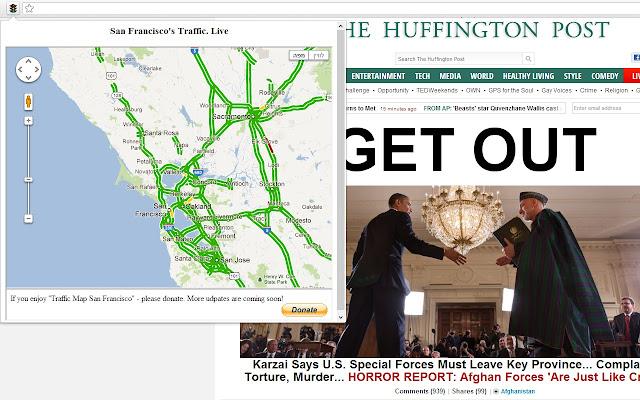 Traffic Map San Francisco