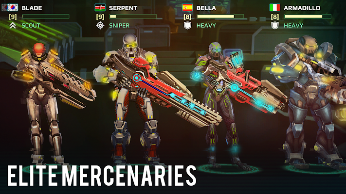 Mercs of Boom Screenshot Image