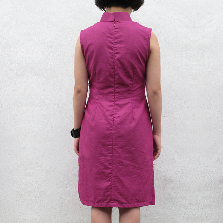 Yun Qipao Purple Large