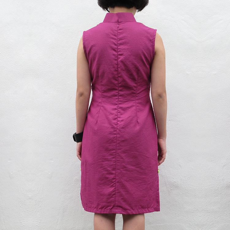 Yun Qipao Purple Large