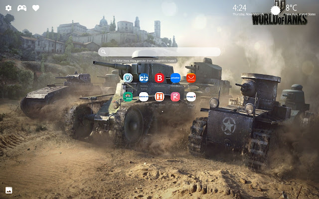 World of Tanks HD Wallpapers New Tab