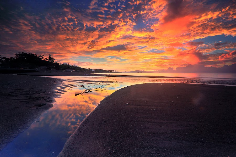 Gun n Rose by Andrew Supit - Landscapes Beaches