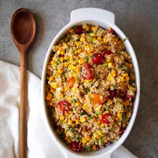 Summer Corn Quinoa Salad