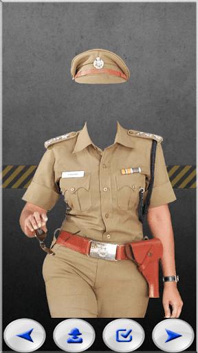 Police Women Photo Suit