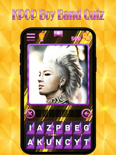 Kpop new boy band quiz : Guess superstar songpop 1.4 screenshots 5