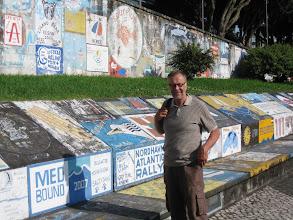 Photo: Lasse Hortan sataman muureilla