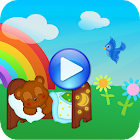 Sound to children sleep icon