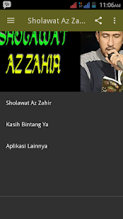Sholawat Az Zahir Screenshot