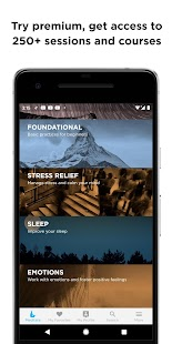 The Mindfulness App: relax, calm, focus and sleep Screenshot