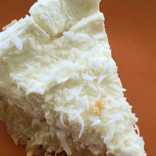 Pina Colada Cream Pie #SundaySupper