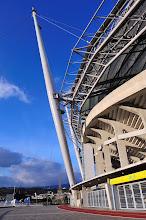 Photo: Seowipo World Cup Stadium is beautiful.