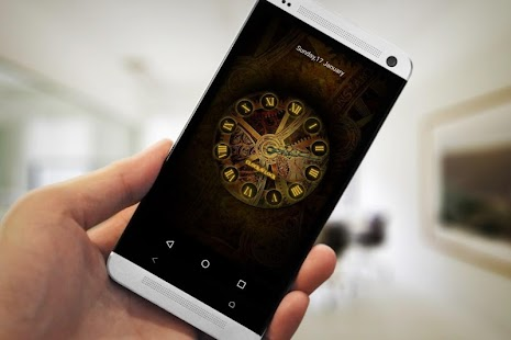 Clock N Lock-Screen Lock screenshot 2