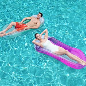 Sezlong gonflabil pentru piscina, Bestway Aqua Lounge