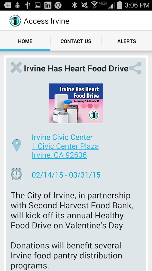 Access Irvine - screenshot