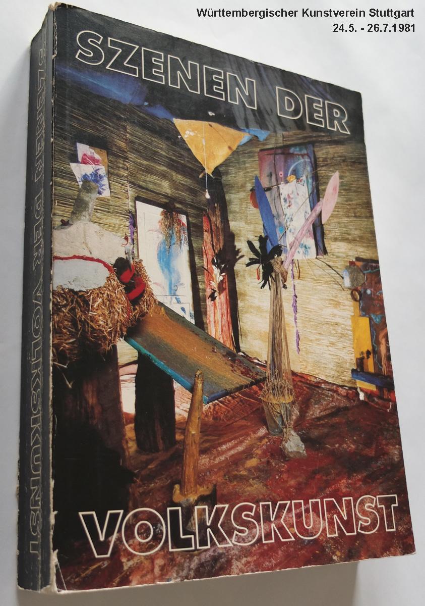 """Photo: Katalog """"Szenen der Volkskunst"""" Württ. Kunstverein Stuttgart, 1981 Auswahl der Filme aus der Punk- und New Wave-Szene: Hannelore Kober + Jonnie Döbele"""
