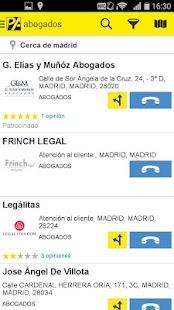 Páginas Amarillas España- screenshot thumbnail