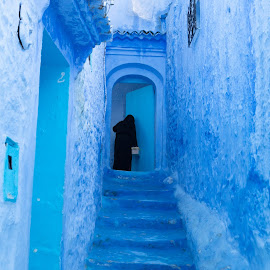 Home by VAM Photography - City,  Street & Park  Street Scenes ( places, woman, morocco, travel, home, architecture,  )