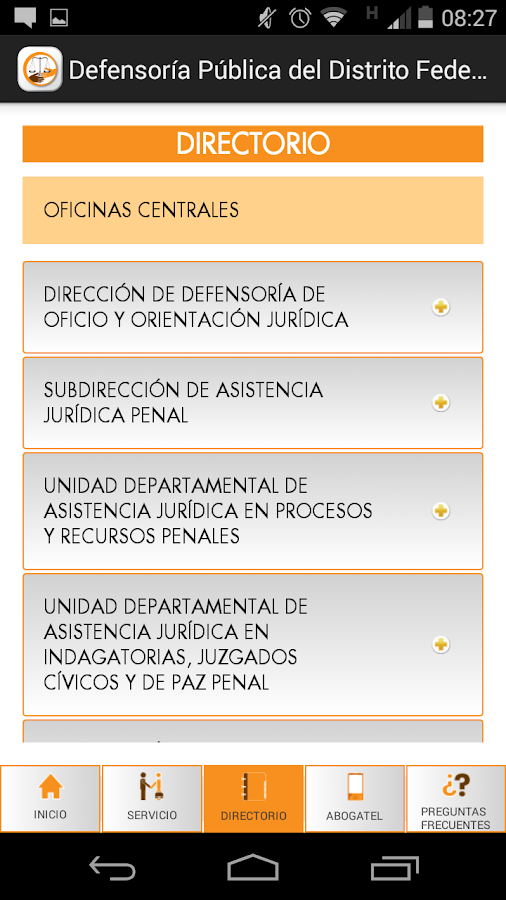 CEJUR- Defensoría DF- screenshot